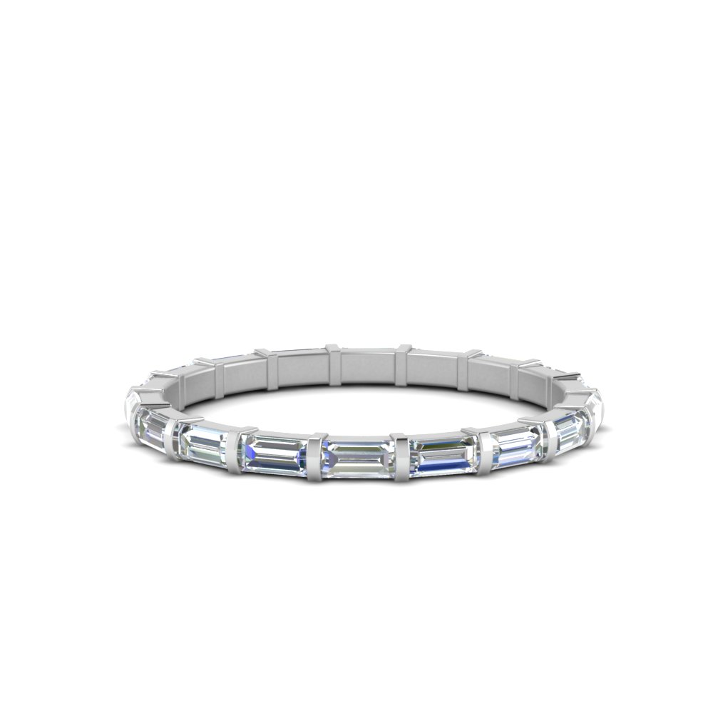 1 Ct. Baguette Bar Diamond Band
